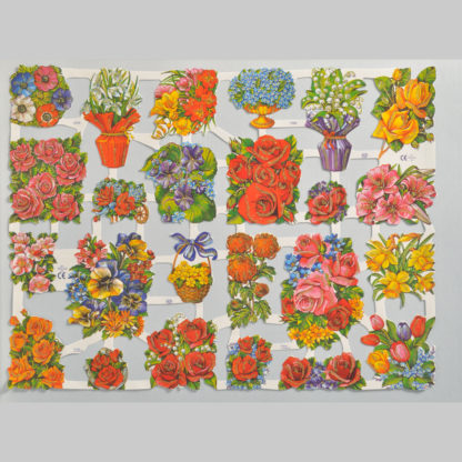 Floral Scrap Sheet