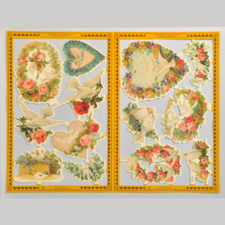Doves Golden Scrap Sheet