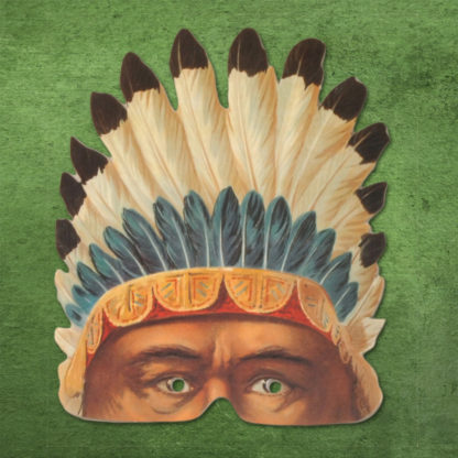 All-American Rejects Party Mask - Indian Brave