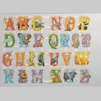 Alphabet Scrap Sheet