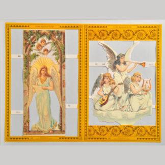 Angels Golden Scrap Sheet