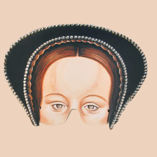 Anne Boleyn Party Mask