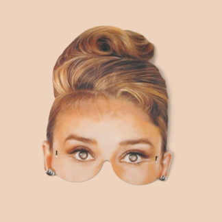 Audrey Hepburn Party Mask