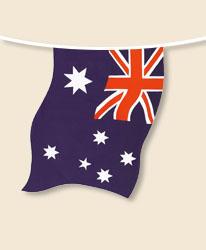 Australia Bunting - large
