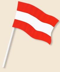 Austria Handwaving Flags