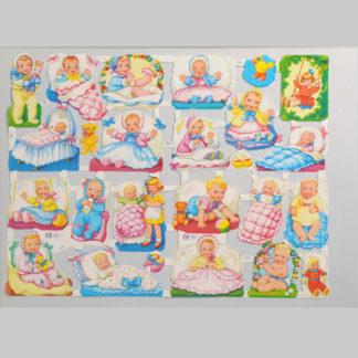 Babies Scrap Sheet 2