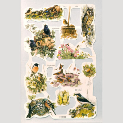 Birds and Nature Scrap Sheet 2