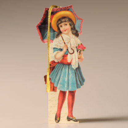 Bookmark Card - Victorian Child 1