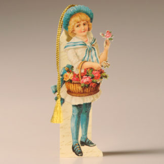 Bookmark Card - Victorian Child 2