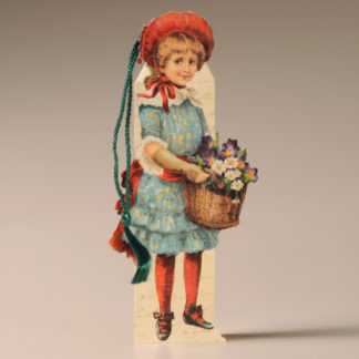 Bookmark Card - Victorian Child 3