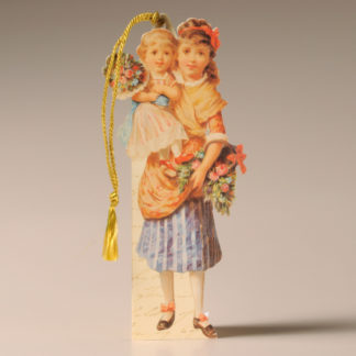 Bookmark Card - Victorian Child 4