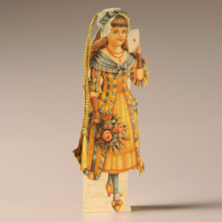 Bookmark Card - Victorian Child 6