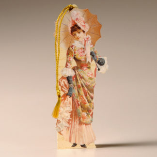 Bookmark Card - Victorian Lady 4