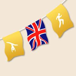 British Sports Bunting