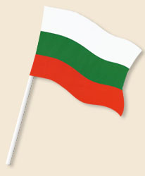 Bulgaria Handwaving Flags