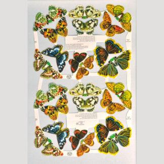Butterflies Scrap Sheet 1