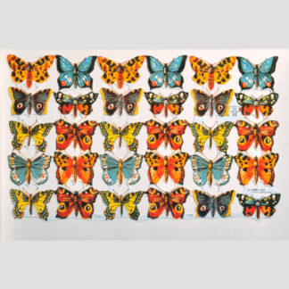 Butterflies Scrap Sheet 2