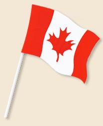 Canada Handwaving Flags