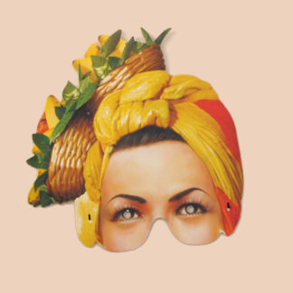 Carmen Miranda Party Mask