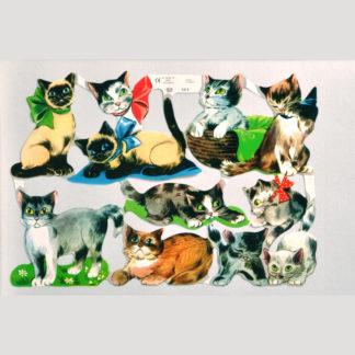 Cats Scrap Sheet 2
