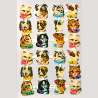 Cats and Dogs Scrap Sheet