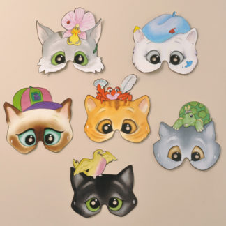 Character Cats Masks