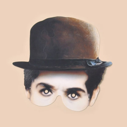 Charlie Chaplin Party Mask
