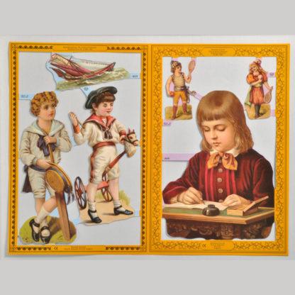 Children Golden Scrap Sheet 3