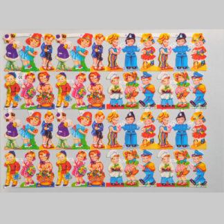 Children Scrap Sheet 2