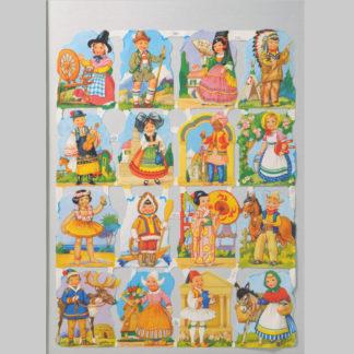 Children Scrap Sheet 5