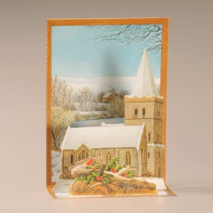 Christmas Cascade Card - Christmas Church