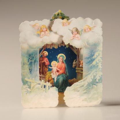 Christmas Nativity Card - Cherubs