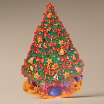 Christmas Rocker Card - Decorated Tree