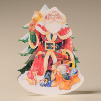 Christmas Rocker Card - Father Christmas