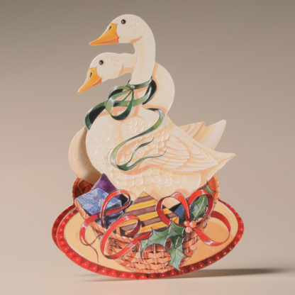 Christmas Rocker Card - Geese