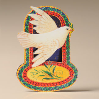 Christmas Rocker Card - Peace Dove
