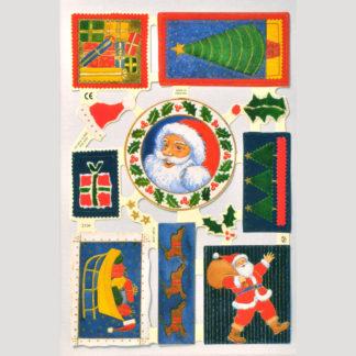 Christmas Scrap Sheet 11