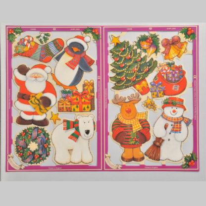 Christmas Serendipity Scrap Sheet 2