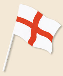 Cross of St George Handwaving Flags
