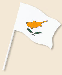 Cyprus Handwaving Flags