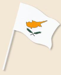 Cyprus Handwaving Flags