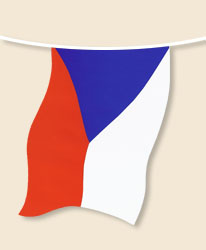 Czech Republic Bunting - small
