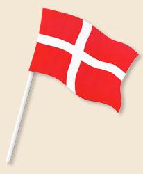 Denmark Handwaving Flags