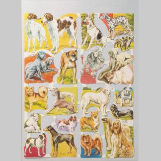 Dogs Scrap Sheet 2