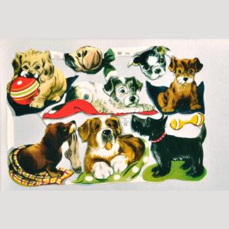Dogs Scrap Sheet 3