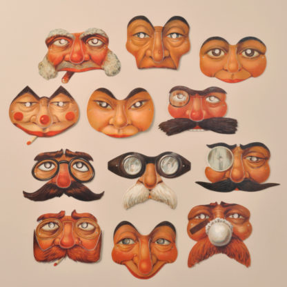 Edwardian Reproduction Mini Party Masks