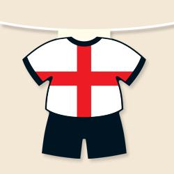 England Shirt Bunting