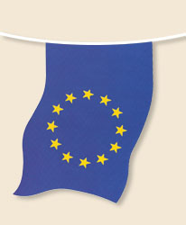 European Union Bunting - small