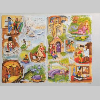 Fairy Tales Scrap Sheet