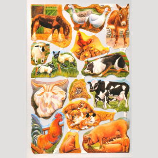 Farm Animals Scrap Sheet
